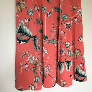 94b4c46e72dd Ann Taylor Dresses - Ann Taylor Coral Oasis Sleeveless Dress Size 12